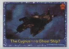 1979 Topps Black Hole #12 The Cygnus-- A Ghost Ship? Non-Sports Card 4f0