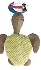 """ETHICAL SPOT PLUSH TOMMY TURTLE MULTI TEXTURE 12"""" DOG TOY. FREE SHIP IN THE USA"""