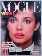 Vtg VOGUE 5/1982 Nastassia Kinski Azzedine Alaia Givenchy Kim Alexis Conde Nast