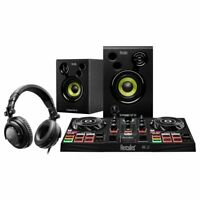 Hercules DJ Learning Kit w/ Controller, Speakers, Headphones, and Software
