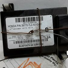09 2009 Acura TSX Bluetooth communication module OEM 39770-TL2-A010-M1