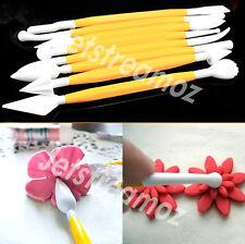 8PCS Modelling Tools Set Cake Decorating Baking Pastry Carve Pen Sugar Craft