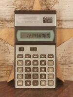 Vintage Casio HL-101 Calculator in Working Fair Condition
