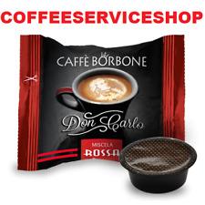 500 Capsule Cialde Caffè Borbone Don Carlo Rossa compatibili Lavazza A Modo Mio