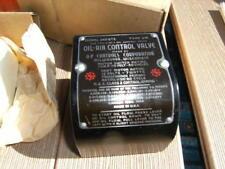 OIL AIR CONTROL VALVE MODEL-K240 ETS OIL AIR CONVERSION KIT A.P. CONTROLS CORP.