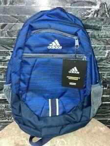 NEW Adidas Foundation V Backpack - Model 2075CU for school or laptop - Blue
