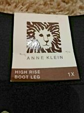 ANNE KLEIN  Women's Pants Pullover High Rise Boot Leg  Stretch  Sz 1XL New!!!