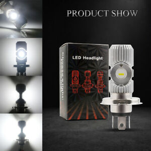 10Pcs 12W H4 9003 HB2 Hi/Lo LED Car Headlight DRL Fog Light Motorcycle Headlight