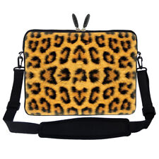 "15.6"" Laptop Computer Sleeve Case Bag w Hidden Handle & Shoulder Strap 2700"