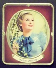Lilian Harvey 1937 Garbaty Passion Film Favorites Embossed Cigarette Card #1
