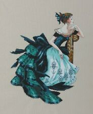 Completed Finished Cross Stitch Mirabilia - Veronica - Beautiful Lady