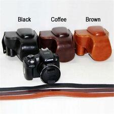 PU Leather Camera case bag For Leica V-LUX4 Panasonic DMC-FZ200 Canon SX50