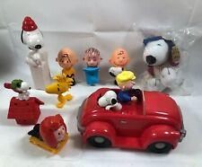 Lot 9 Peanuts Snoopy Mcdonald Figures/ Summer Fun Limited Edition Hallmark