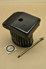 1990's Royal Enfield Bullet 500 Air Box Filter Cleaner Element Mount Cap Cover