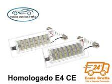 PLAFONES LED MATRICULA BMW E53 X5 E83 X3 HOMOLOGADO E4 CE LUCES LUZ ENVIO 24H