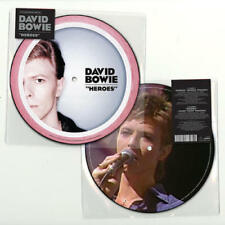 """David Bowie 'Heroes' 7""""Picture Disc Vinyl (New & Sealed) In Stock Now!"""