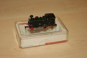 N Gauge FLEISCHMANN Steam Loco Black DB livery 0-4-0 Tank RUNS WELL