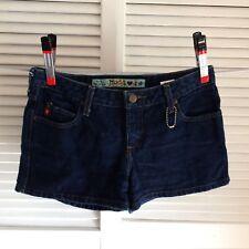 Mudd Jean Shorts Junior Size 9 Mini Dark Wash