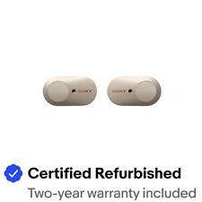Sony WF-1000XM3 True Wireless Bluetooth Noise Canceling In-Ear Headphones Silver