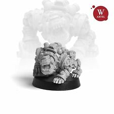 """28mm wargame and collectible miniature, Woofy the Cyberdog by Artel """"W"""""""