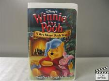 Winnie the Pooh - A Very Merry Pooh Year (VHS, Clamshell) Walt Disney Home Video