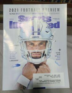 Sports Illustrated September 15, 2021 Dak Prescott Dallas Cowboys