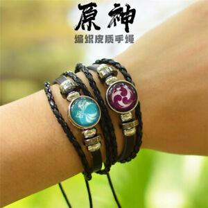 Genshin Impact Element Eye of God Bracelet Cosplay Prop Accessories Gift