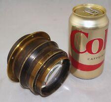 Taylor Hobson Cooke Soft Focus Portrait Lens Series VI f5.6 8x10 Brass Lens