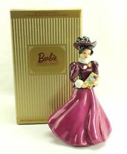 Holiday Traditions Homecoming Barbie Limited Edition Porcelain Figurine 1997