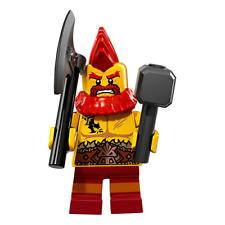 Battle Dwarf LEGO 71018 - Series 17 Minifigure BNIP FREE POSTAGE