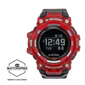 Casio G-Shock G-SQUAD Bluetooth® Black Resin Band Watch GBD100SM-4A1