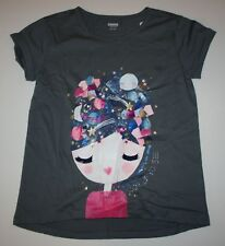 """8 GYMBOREE Girl /""""Posh /& Playful/"""" Collection So Chic Glitter Tee New Size 6"""