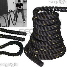 "1.5"" 50FT Poly Dacron Battle Rope Exercise Crossfit Strength Training Undulation"