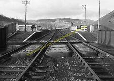 Nantyffyllon Railway Station Photo. Maesteg - Cymmer. Tondu to Abergwynfi. (4)