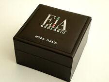 NEW E-A Orologio Moda Italia watch BOX