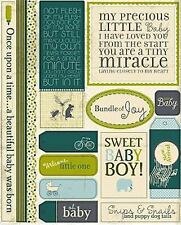 Authentique - LOYAL - MIRACLE BOY Collection - TABLOID - Cardstock Die Cuts