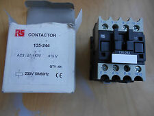 contractor 230v 50/60HZ 4kw 9a