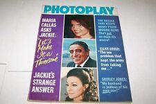 MARCH 1971 PHOTOPLAY vintage movie fan magazine JACKIE KENNEDY