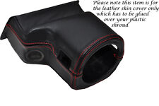 RED STITCH FITS ROVER 200 25 MG ZR 99-05 STEERING WHEEL SHROUD LEATHER COVER