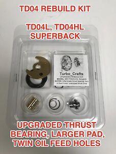 TD04 TURBO REBUILD KIT UPGRADED SUPERBACK FOR SUBARU VOLVO SAAB MITSUBISHI TD04L