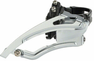 microSHIFT MarvoLT Front Derailleur 9-Speed Double, 42T Max, 31.8/34.9mm, High