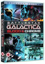 BATTLESTAR GALACTICA (2012-2013) BLOOD + CHROME  NEW TV MiniSeries UK DVD not US