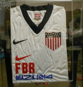 Nike U.S. Soccer World Cup in Brazil 2014 Framed Jersey fifa olympic usa