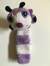 """APPLAUSE BENDABLE STUFFED BUTTERFLY BOOKMARK, PURPLE MULTISHADED 7"""" LONG"""