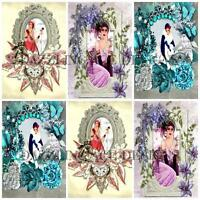 12 ART DECO CHERYL Embellishments, Card Making Toppers, Card Toppers