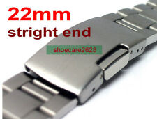 22mm Straight End Stainless Steel Links Bracelet Watchband For Oyster SKX007