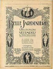 Réclame Pub Uniformes Militaire Vêtements Hommes Femmes Enfants Paris 1916 WWI