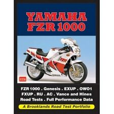 Yamaha FZR 1000 Road Test Portfolio book paper motorcycle