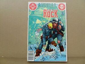 Sgt. Rock Annual # 4 1984 Joe Kubert cover art Our Army at War DC comics