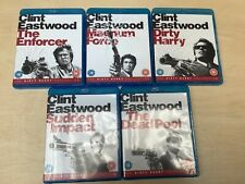 Blu-Ray Clint Eastwood Dirty Harry Collection Boxset (5 Discs) Rated 18+